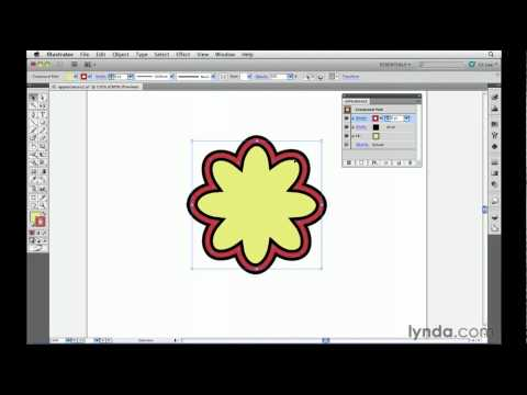 Illustrator: Adding multiple strokes and fills | lynda.com tutorial