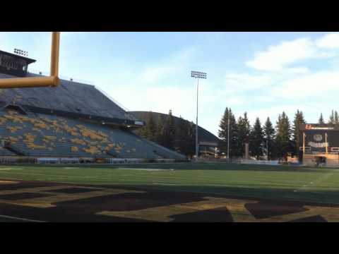 University of Wyoming War Memorial Stadium