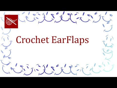 Crochet Earflaps - Sewing on to the Cap or Hat