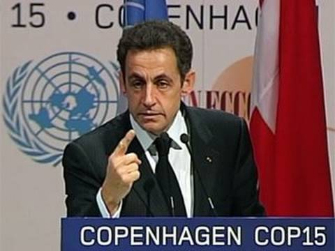 Nicolas Sarkozy Criticizes US and China's COP15 Promises