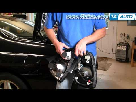 How To Install Replace Taillight Chevy Monte Carlo 00-07 1AAuto.com