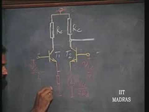 Lecture - 5 Differential Amplifier Characteristics