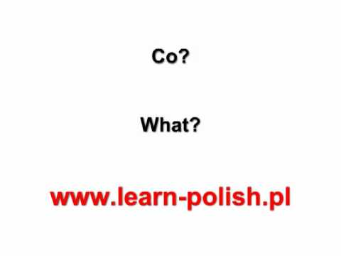 "How to say ""I like "" in Polish. Accusative Case in Polish"
