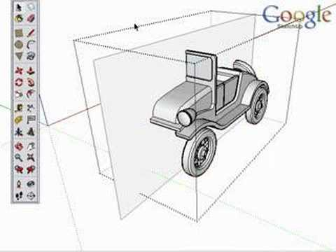 Google SketchUp Techniques: Intersect with Model