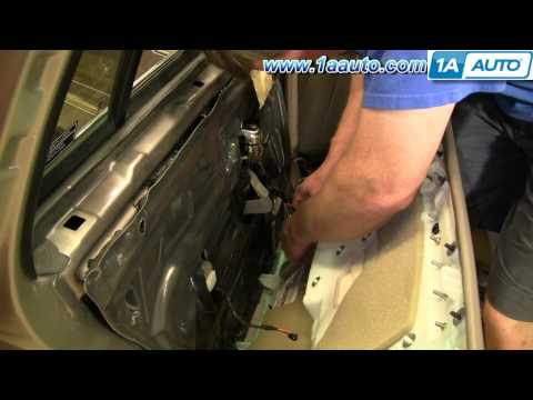 How To Install Replace REAR Door Panel Cadillac DeVille 97-99 1AAuto.com