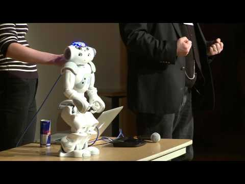 TEDxCMU -- Heather Knight -- Robot Comedy