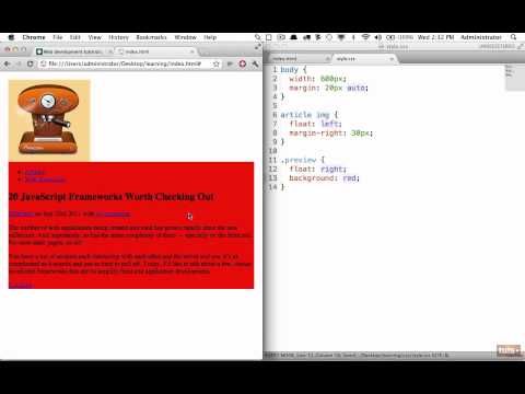 Day 21: Creating a Website Fragment (30 Days to Learn HTML & CSS)