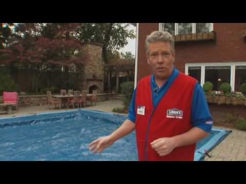 How to Close a Swimming Pool - Clean and Cover a Pool