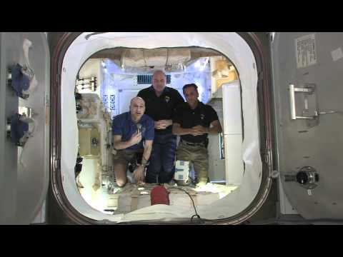 ISS Crew Discusses Dragon Arrival