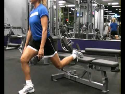 Lunges / Single Leg / On Bench : BeYourTrainer.com