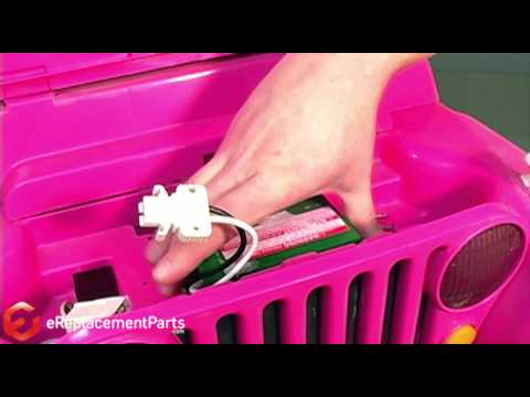 How to Replace the Battery on a Power Wheels