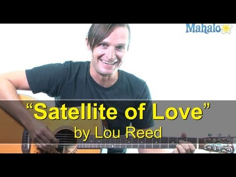 "How to Play ""Satellite of Love"" by Lou Reed on Guitar (Practice Cover)"