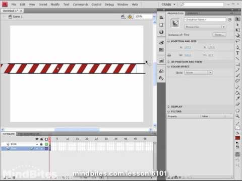 Flash CS4 Tips Vol 2, 10: Continuous Animation