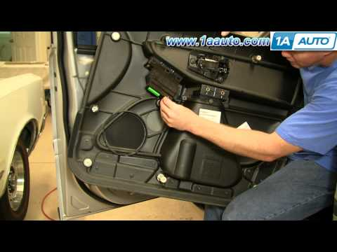 How To Install Remove Power Window Switch Volvo XC90 03-12 1AAuto.com