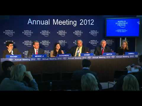 Davos 2012 - Launch of Social Media Syndicate to end mother-to-child HIV transmission