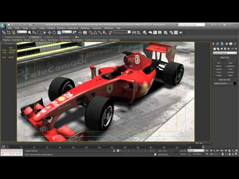 3ds Max 2012 New Feature - Nitrous Graphics
