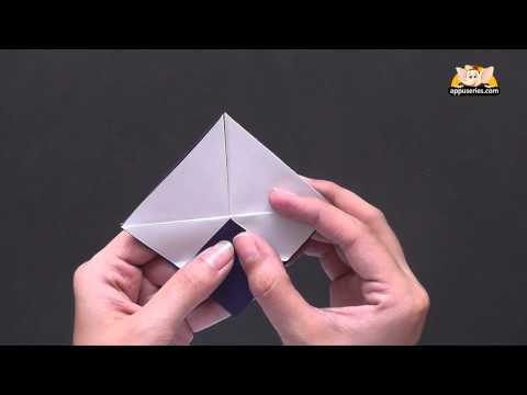 Origami - Learn to make a Basket