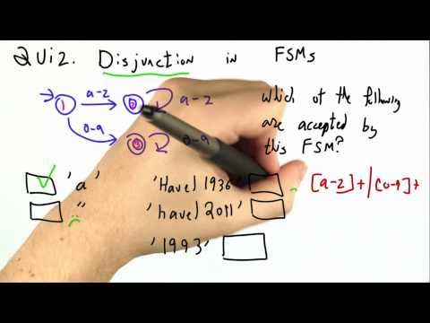 Disjunction In Fsms Solution - CS262 Unit 1 - Udacity