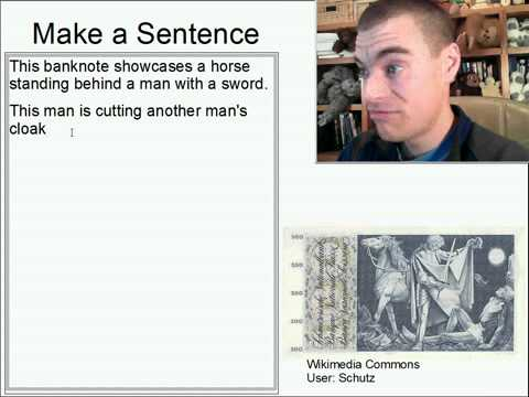 Learn English Make a Sentence and Pronunciation Lesson 67: Horse Banknote