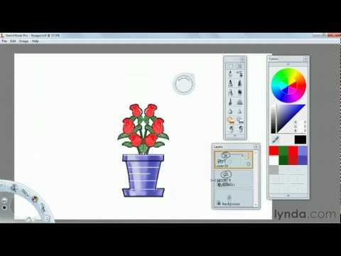 How to use the Sketchbook Pro color tools | lynda.com tutorial