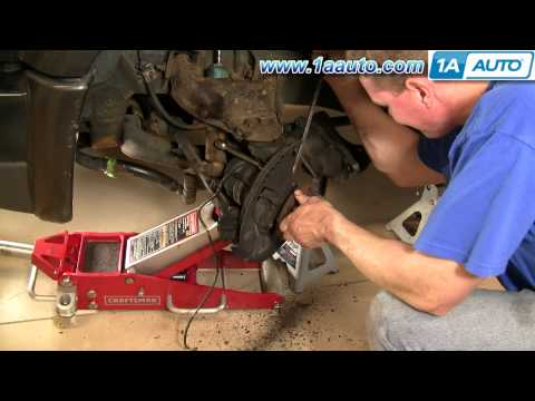 How To Install Replace Front Lower Ball Joint Part 1 Chevy GMC S-10 S15 - 1AAuto.com