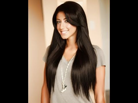 How To: Blend Straight Hair with Clip-In Luxy Hair Extensions