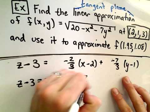 Tangent Plane Approximations