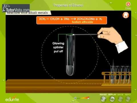 Properties Of Ethanol