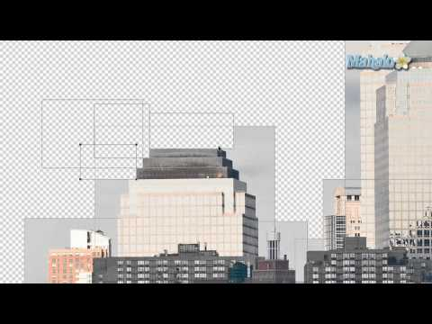 Photoshop Tutorial - Masking With The Shape Tools