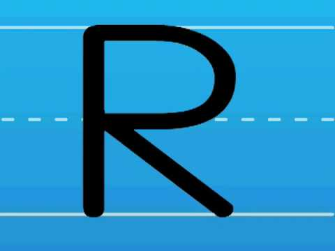 Print the Letter R with Hooked on Phonics Learn to Read