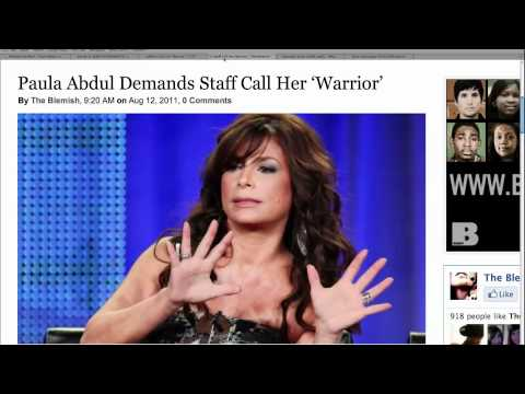 Paula Abdul is Crazy