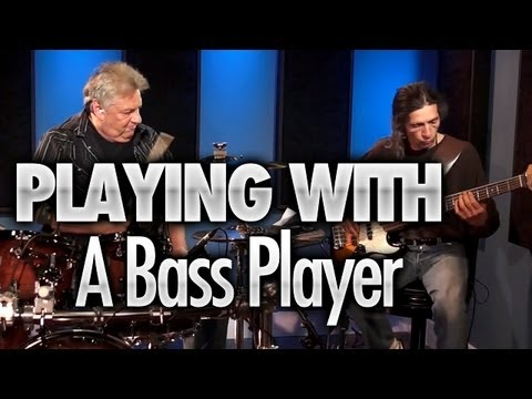 Playing With A Bass Player - Drum Lessons