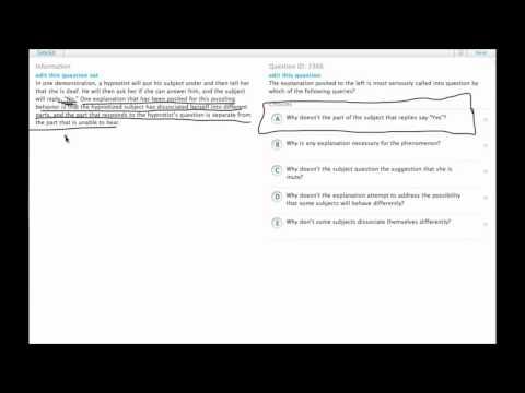 Grockit GMAT Verbal - Critical Reasoning: Question 3366