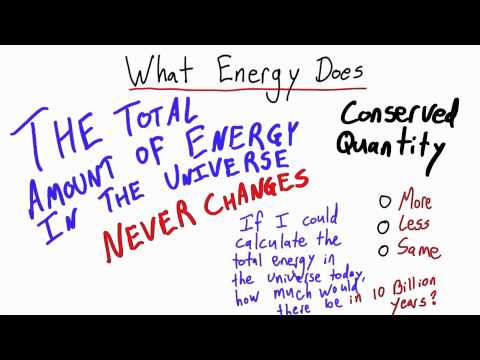 What Energy Does 2 - Intro to Physics - Work and Energy - Udacity