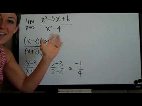 Limits - Factoring Method