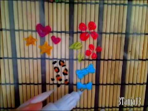 Tip: Easier To Do Nail Art Designs - [Plastic bag method ORIGINAL]
