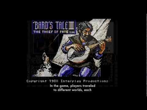 "The Art of Video Games: ""The Bards Tale III: Thief of Fate"" Exhibition Video"
