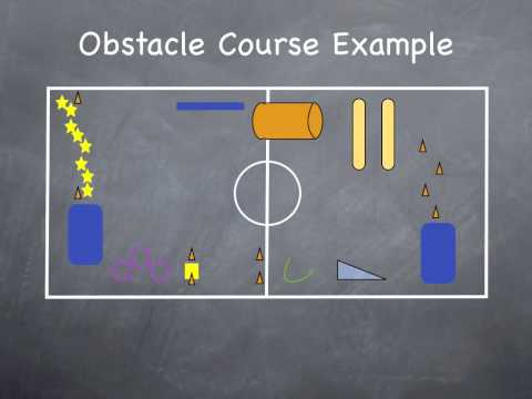 Physical Education Games - Obstacle Courses