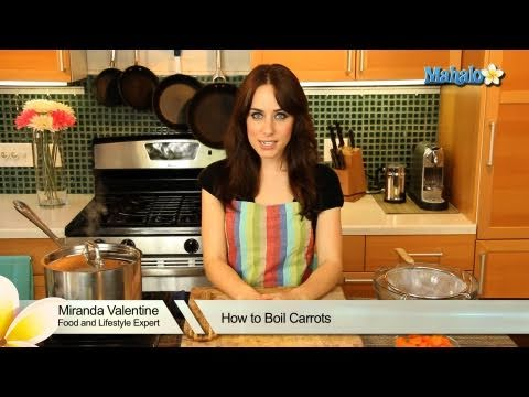 How to Boil Carrots
