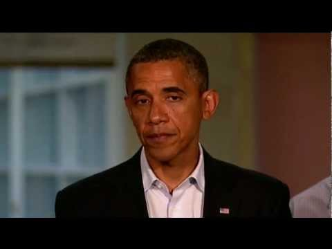 Watch President Obama's Full Speech on Aurora Theater Shooting