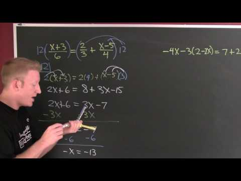 Solving Linear Equations 2.mov