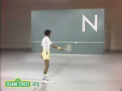 Sesame Street: Arthur Ashe Does the Alphabet