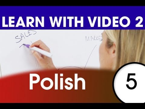 Learn Polish with Video - Top 20 Polish Verbs 3