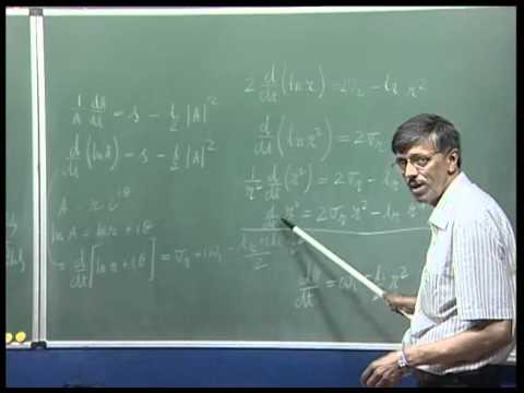Mod-01 Lec-30 Instability and Transition of Fluid Flows