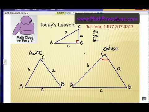 How to Solve Non-right Triangles: Law of Sines