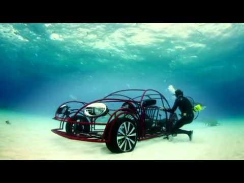 Beetle Shark Cage Underwater Test Drive | Shark Week 2012