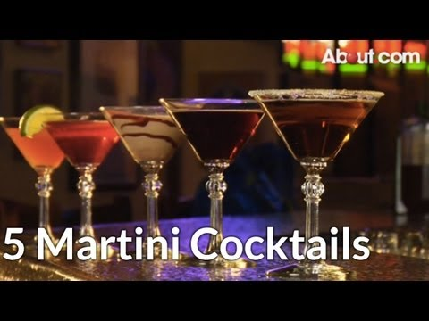 Top 5 Martini Cocktail Recipes