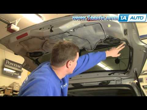 How To Install Replace REAR Wiper Motor Chevy Venture Pontiac Montana 97-05 1AAuto.com