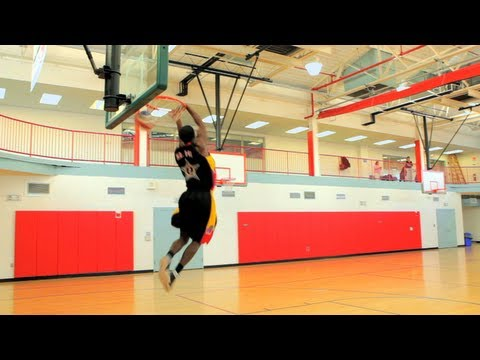 How to Play Basketball: Basketball Moves / Reverse Dunk