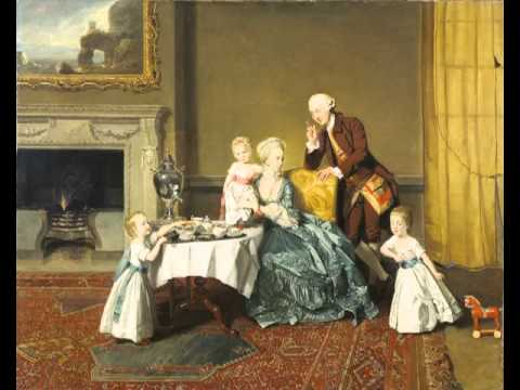 John, Fourteenth Lord Willoughby de Broke, and his Family, Johann Zoffany